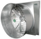Typhoon Slant Wall Exhaust Fan  The Typhoon slant wall exhaust fan has a heavy  gauge galvanized housing and X-frame motor mount to provide a solid  structure. Typhoon fans include an aluminum shutter with tie bar and  galvanized shutter clips to hold the shutter tight to the frame for less  vibration. With a quick twist of the clips, the shutter can be removed for  easy cleaning and maintenance. Typhoons are designed for exceptional  performance, low maintenance and low operating cost for your agricultural,  horticultural or industrial application.