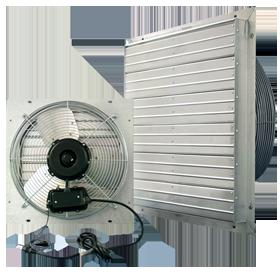 Indoor/Outdoor ES Shutter Fan