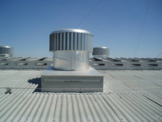 EDMONDS ecoPOWER Commercial Roof Ventilation  - 400EP (1412 CFM - 68 Watts) SHOWN, 600EP (2500 CFM- 116 Watts, & 900EP (5885 CFM- 260 Watts) (CLICK TO VIEW DETAILS OR CALL FOR FREE EXPERT ADVICE AND PRICING)