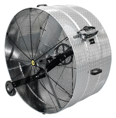 "J&D DIAMOND BRITE™ PORTABLE DRUM FAN - Sizes 20"", 24"", 30"", 36"", 42"" and 46""  4,760-23,500 CFM   (CLICK TO VIEW DETAILS OR CALL FOR FREE EXPERT ADVICE & PRICING)"