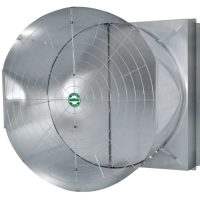 "A3 - J&D TITAN II - 55"" Exhaust Fan up to - 32,500 CFM @ .05 SP,  Single & 3 Phase 3 Blade GLV,  1 1/2 & 2 HP Energy Efficient, 115/230v, & 208/230/460v, VFD Compatible, Multiple Models (CLICK TO VIEW DETAILS OR CALL FOR FREE EXPERT ADVICE & PRICING)"