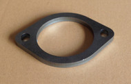 "2 Bolt 76mm Mild Steel 3"" Flange Plate"