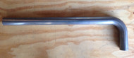 "Exhaust Tube Stainless 409 Grade 2.5"" with 90 Degree Bend"