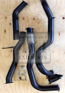 "GU 4.2L TD 3"" Wagon Stainless Exhaust System (No Muffler, No Dump Pipe)"