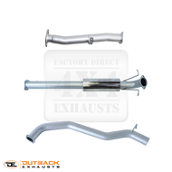 "MAZDA BT50 3.2L, DPF Model 3"" 409 Stainless Steel Exhaust System"