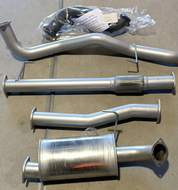 "HOLDEN COLORADO 7  WAGON 2.8L Turbo Diesel 3"" 409 Stainless Exhaust System"