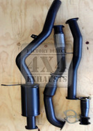 "Nissan Navara D22 3.0L 3"" 409 Grade Stainless Exhaust System"