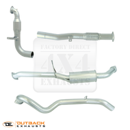 "NISSAN PATROL WAGON Y61 3.0L Common Rail 3"" 409 Stainless Steel Exhaust System"