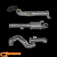 "TOYOTA PRADO 120 WAGON  3.0L Direct Injection KZJ1203"" 409 Grade Stainless Exhaust System"