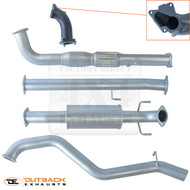 FOTON TUNLAND UTE  2.8L Common Rail 409 Stainless Steel Exhaust System 2014-2016
