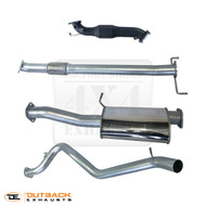 "Mitsubishi Challenger KH 2.5L TD 3.0"" 409 Stainless Exhaust System"