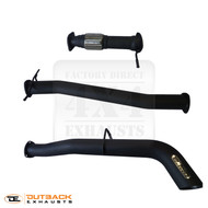 "Ford Ranger RAPTOR 3.5"" DPF Back 409 Grade Stainless Steel Exhaust System"