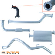 "Great Wall V200 2.5"" Aluminised Exhaust System"