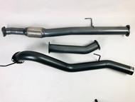 "ISUZU D MAX  3.0L TD 3.5"" DPF Back 409 Stainless Steel Exhaust System"