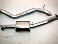 "FORD EVEREST 3.2L WAGON  DPF  3""409 Stainless Steel Exhaust System"
