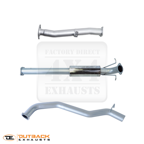 """FORD RANGER DPF BACK 3"""" EXHAUST SYSTEM"""