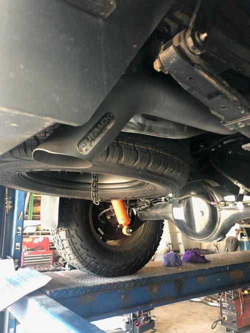 Ford Ranger 2.0L Bi Turbo Tail Pipe
