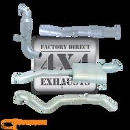 """NISSAN PATROL GU UTE Y61 3.0L LEAF Rear 3"""" 409 Stainless Steel Exhaust System"""