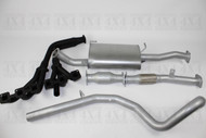 "NISSAN PATROL WAGON GU  Y61 4.5L Petrol 2.5"" Stainless Steel Exhaust System With Extractors"