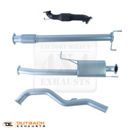 "MITSUBISHI TRITON ML 3.2L TD Dual Cab 3"" Stainless Steel Exhaust System"
