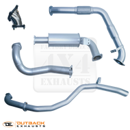 "TOYOTA LANDCRUISER 80 Series WAGON DTS TURBO FITTED 3"" Aluminised Exhaust System"