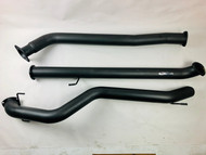 "TOYOTA HILUX UTE 2.8L GUN126R 3.5"" DPF Back Exhaust System"