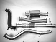 "ISUZU MUX  WAGON 3"" Turbo  Back 409 Stainless Steel Outback Exhaust System"
