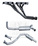 "TOYOTA LANDCRUISER 105 Series WAGON 4.2L 6CYL DIESEL  HZJ105 2.5"" 409 Stainless Steel  Exhaust System With Extractors"