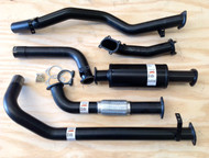 "TOYOTA LANDCRUISER 79 Series SINGLE CAB UTE 4.2L 6Cyl TD 3"" Aluminised Exhaust System"