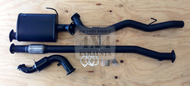 "Holden Colorado 7 Turbo Diesel Wagon 3"" Aluminised Exhaust System"