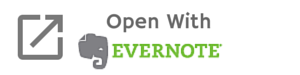Open with Evernote