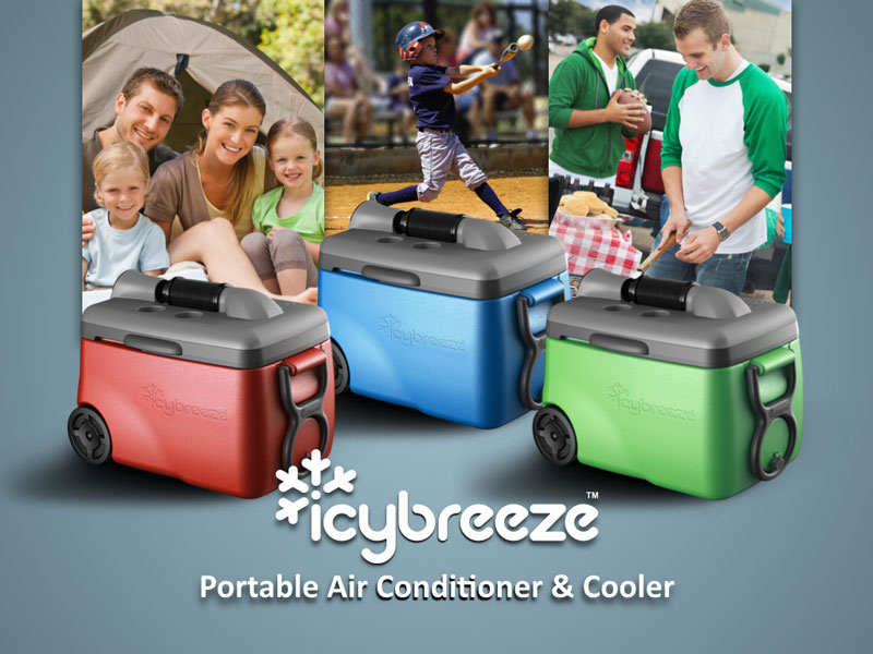 IcyBreeze Portable Air Conditioner & Cooler