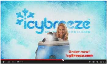 IcyBreeze Television Commercials
