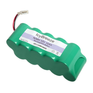 Replacement 12V battery pack for the IcyBreeze battery powered portable air conditioner.