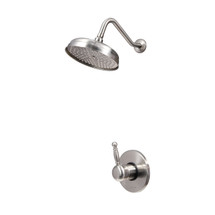 Dyconn Faucet SS215-BN Emperor Brushed Nickel Single Handle Shower Faucet System