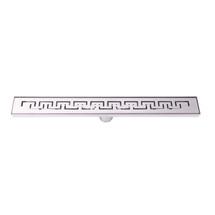 "BOANN BNLD24C03 Modern Line Design 304 Stainless Steel 24"" Linear Drain"