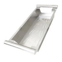 "BOANN BNKCH20 Modern Kitchen Sink Colander Fits 17"" Opening, Satin Stainless, Large"