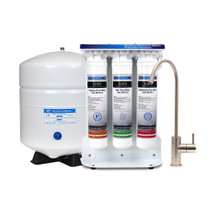 BOANN 5-stage Reverse Osmosis Ro Water Filter System w/ Quick-twist Filters (BNROSYS)
