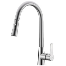 Dyconn Faucet Danube TB1H15-BN Single Handle Pull Out Kitchen Faucet