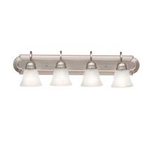4 Light Bath Light - Brushed Nickel