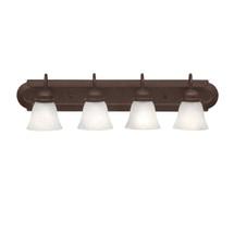 4 Light Bath Light - Tannery Bronze
