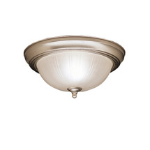 2 Light Flush Mount Ceiling Light - NI
