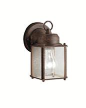 1 Light Outdoor Wall Light - Tannery Bronze