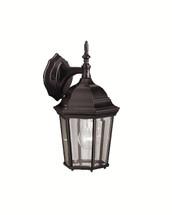 1 Light Outdoor Wall Lantern - Black