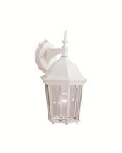1 Light Outdoor Wall Lantern - White
