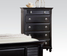 Chest with Jewelry Tray Drawer in Black