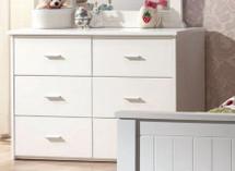 Bungalow Dresser, White