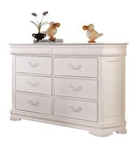 Classique Double Dresser, White