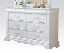 Estrella Youth Dresser in White