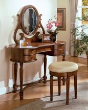 Carrington Mirror, Oak Finish